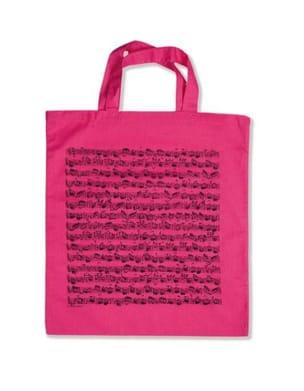 Sac Rose - Partition de musique Cadeaux - Musique laflutedepan