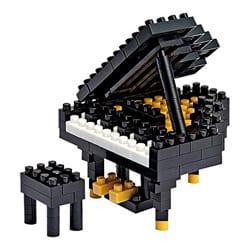 NANOBLOCK - Piano Jeu musical pour enfant Accessoire laflutedepan