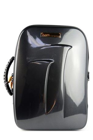 Etui BAM 2 Clarinettes Sib New Trekking Noir carbone - laflutedepan.com
