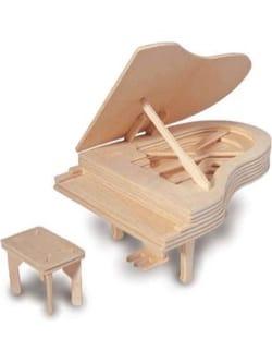 Piano en bois à construire en Kit Jeu musical pour enfant laflutedepan