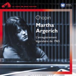 Martha ARGERICH : L'enregistrement légendaire de 1965 - laflutedepan.com