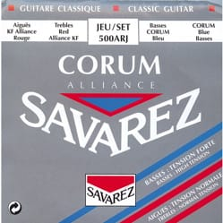 Cordes SAVAREZ Alliance Corum 500ARJ - Guitare classique laflutedepan