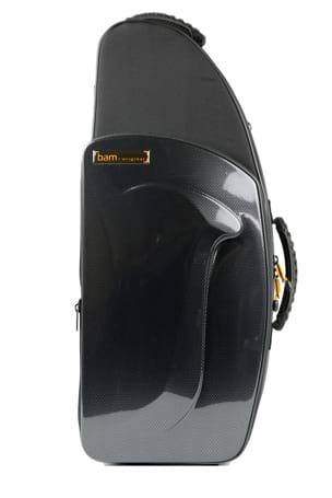 Etui BAM Saxophone Alto New Trekking Noir carbone laflutedepan