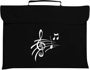 Cartable à musique clef de sol Cartable à Musique laflutedepan