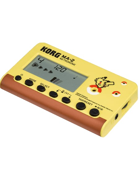 Métronome KORG - MA-2 Pokemon Pikachu - laflutedepan.com