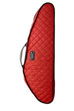 Hoody Bam pour Violon Hightech Slim Rouge laflutedepan