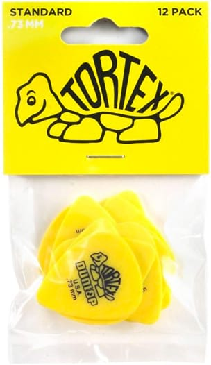 Médiators Dunlop Tortex Standard 0,73 mm - laflutedepan.com