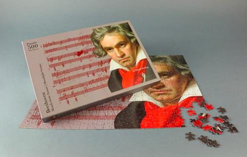 Puzzle Beethoven - Jeu Musical - Accessoire - laflutedepan.com