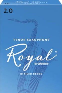 D'Addario Rico Royal - Anches Saxophone Ténor 2.0 laflutedepan
