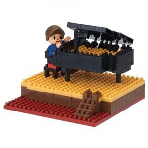 NANOBLOCK - Piano de concert Jeu musical pour enfant laflutedepan