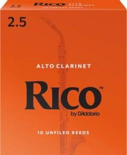 D'addario Rico - Anches Clarinette Alto 2.5 laflutedepan