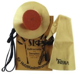 Kits d'entretien instrument pour SAXOPHONE SOPRANO REKA - laflutedepan.com
