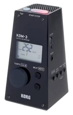 Métronome Electronique - KDM-3 Métronome KORG Noir - Accessoire - di-arezzo.fr