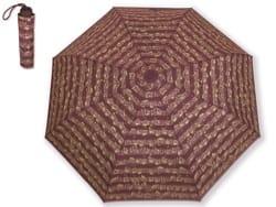 Petit Parapluie BORDEAUX Notes de musique de Bach laflutedepan
