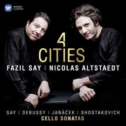 4 Cities - CD - Fazil SAY & Nicolas ALSTAEDT - laflutedepan.com