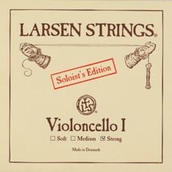 Corde de LA LARSEN Solist Edition Doux pour VIOLONCELLE laflutedepan