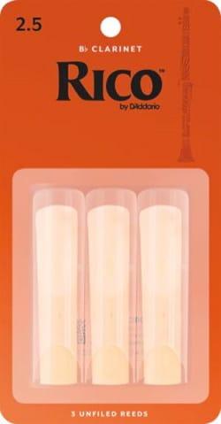 D'Addario Rico - Anches Clarinette Sib 2.5 laflutedepan