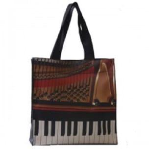 Sac en nylon Piano - Cadeaux - Musique - Accessoire - laflutedepan.com