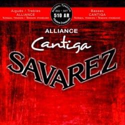 Cordes pour Guitare Classique - ギター弦のセットSAVAREZ CANTIGA ALLIANCE RED通常電圧 - Accessoire - di-arezzo.jp