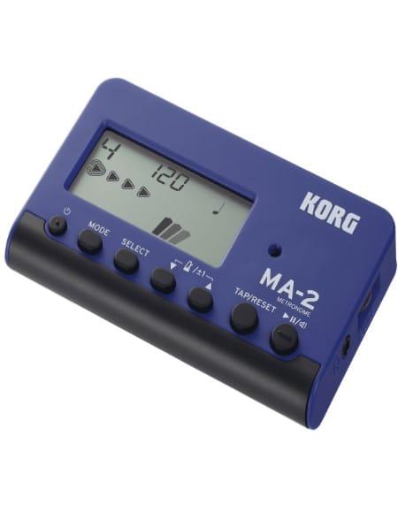 Métronome KORG - MA-2 Bleu et Noir - laflutedepan.com