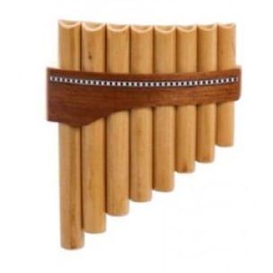 Instrument - FLUTE DE PAN Premium en Do majeur à 8 tubes - laflutedepan.com