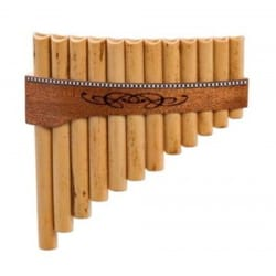 Instrument de Musique : Flûte de Pan - Instrumento - FLAUTA PAN superior en Do mayor con 12 tubos - Accessoire - di-arezzo.es