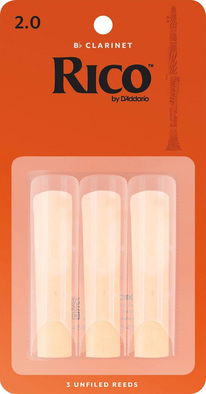 D'Addario Rico - Anches Clarinette Sib Force 2.0 - laflutedepan.com