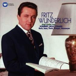 Lieder par Fritz WUNDERLICH - laflutedepan.com
