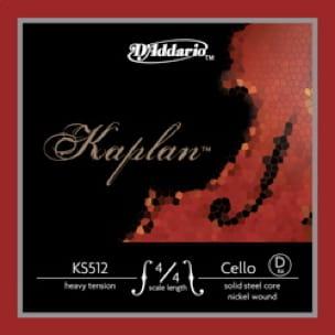Corde de RÉ D'ADDARIO pour VIOLONCELLE 4/4 KAPLAN™ - Tirant MOYEN - laflutedepan.com