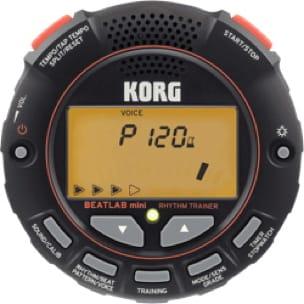 Métronome Korg BEATLAB mini - laflutedepan.com