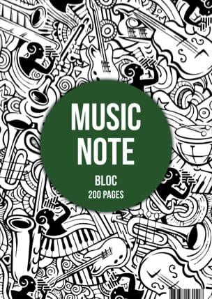 Papeterie Musicale - A4 Music Paper Pad - Papier - di-arezzo.com