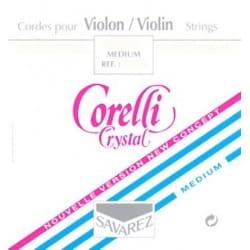 JEU VIOLON 3/4 CRYSTAL Médium Cordes pour Violon laflutedepan