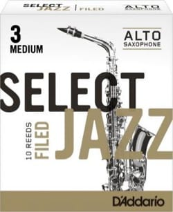 Anches pour Saxophone Alto - D'Addario Select Jazz Filed Alto Alto Saxophone Reeds - Accessoire - di-arezzo.com