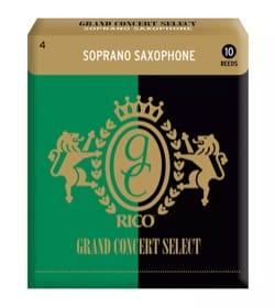 D'addario Rico Grand Concert - Anches Saxophone Soprano Force 4 - laflutedepan.com