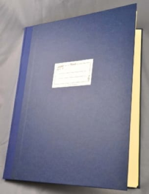 Cahier de Musique - Relié - 12 portées - 96 pages - laflutedepan.com