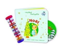 Lot Noël + Bâton de pluie Jeu musical pour enfant laflutedepan