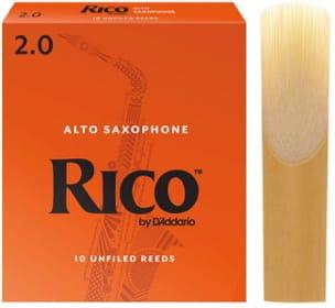 D'Addario Rico - Anches Saxophone Alto 2.0 laflutedepan