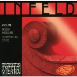JEU de Cordes pour violon THOMASTIK Infeld Noyau hybride rouge laflutedepan