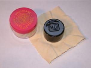 Colophane MILLANT-DEROUX Foncée avec velventine - laflutedepan.com