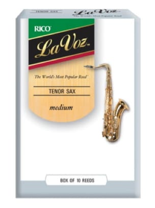 D'addario Rico La Voz - Anches Saxophone Ténor Médium - laflutedepan.com