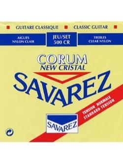 Cordes pour Guitare Classique - JEU de Cordes pour Guitare SAVAREZ NEW CRISTAL CORUM ROUGE tension normal - Accessoire - di-arezzo.ch