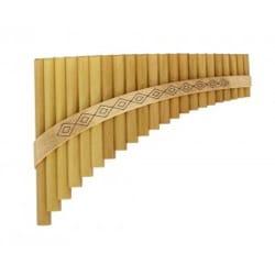 Instrument - FLUTE DE PAN Solist en Sol majeur à 22 tubes - laflutedepan.com