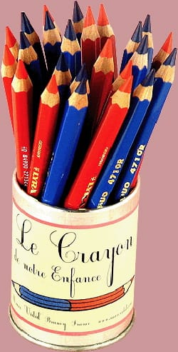 Papeterie Musicale - Red and Blue pencil - Accessoire - di-arezzo.com
