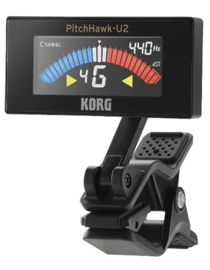 Accordeur pour Guitare - Ukulele Tuner KORG PitchCrow AW-3U2 BLACK - Accessoire - di-arezzo.co.uk
