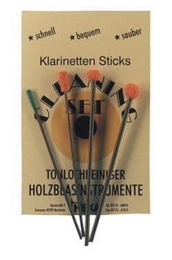 Accessoire pour Clarinette - Maintenance kit - cotton buds for REKA clarinet fireplaces - Accessoire - di-arezzo.com