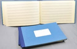 Cahier de Musique - Music Notebook - Hardcover - 8 scrap - 48 pagine - Papier - di-arezzo.it