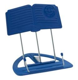 Porte-partition K&M Uni-Boy Classic, Bleu laflutedepan
