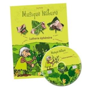 LUTHERIE EPHEMERE Livret avec CD FUZEAU - laflutedepan.com