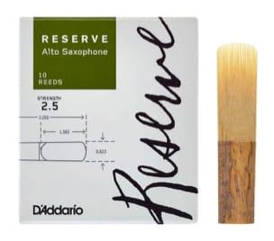 D'Addario Réserve - Anches Saxophone Alto 2.5 laflutedepan