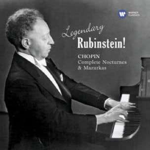 Legendary RUBENSTEIN! CHOPIN: Complete Nocturnes & Mazurkas - laflutedepan.com